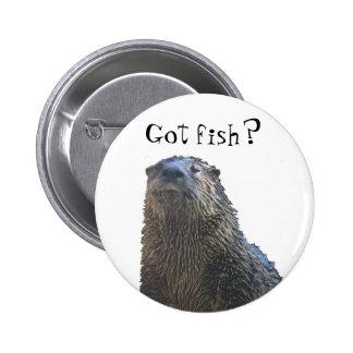 otter 2 Got fish Buttons