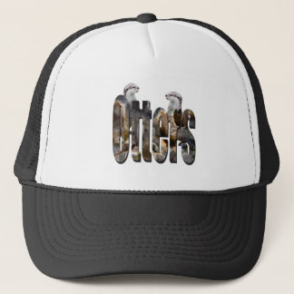 Otter And Otters Logo, Trucker Hat