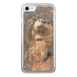 Otter Back Float Carved iPhone 8/7 Case