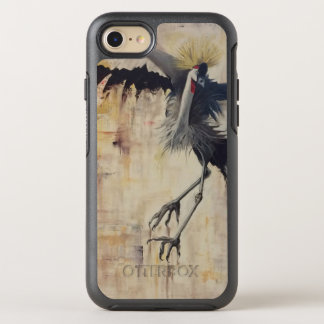 Otter Box Symmetry iPhone 7/8 Case- Crowned Crane