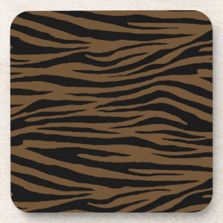 Otter Brown Tiger Coaster