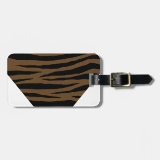 Otter Brown Tiger GH Luggage Tag