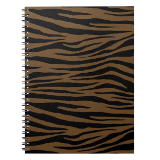 Otter Brown Tiger Notebooks