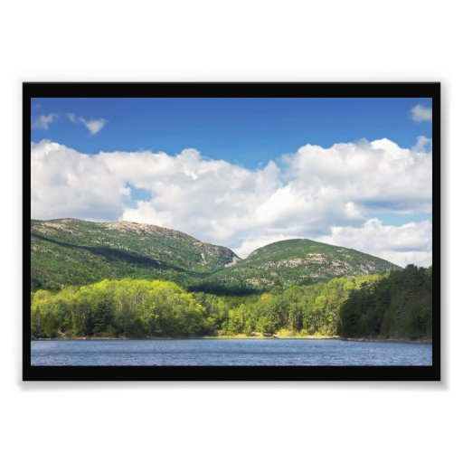 Otter Cove And mountains Acadia National Park Photograph