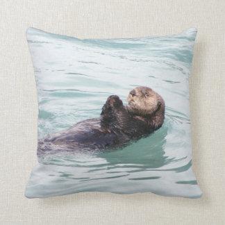 Otter Cushion