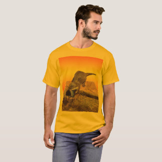 Otter Eating Tasty Fish By His Pond, T-Shirt