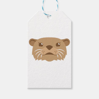 otter face gift tags