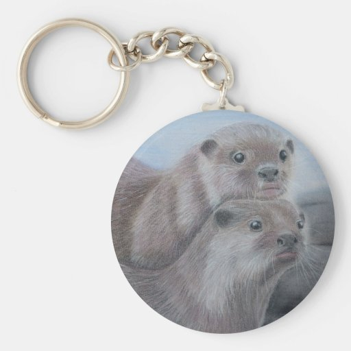 Otter Key Ring Keychain