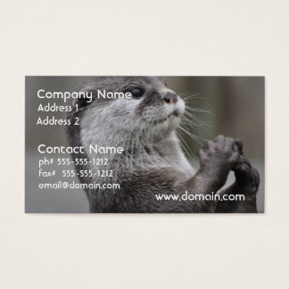 Otter Mastermind Business Cards