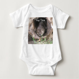Otter Napping Baby Outfit Baby Bodysuit