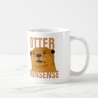 Otter Nonsense Basic White Mug
