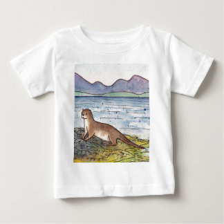 otter of the loch baby T-Shirt