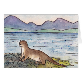 otter of the loch card