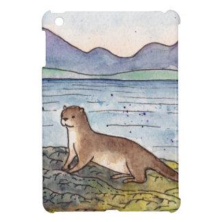 otter of the loch iPad mini case