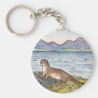 otter of the loch key ring