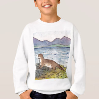 otter of the loch sweatshirt