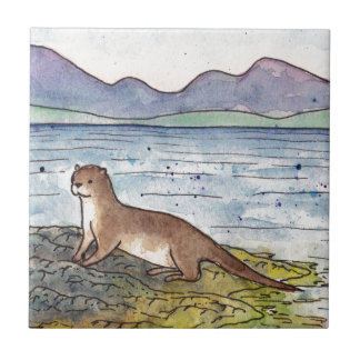 otter of the loch tile