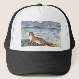 otter of the loch trucker hat