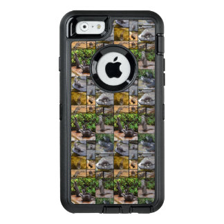 Otter Photo Collage, iPhone 6/6s Defender Case.