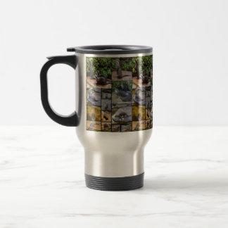 Otter Photo Collage, Travel Coffee Mug. Travel Mug
