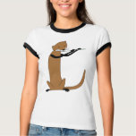 Otter Playing the Flute Tshirts