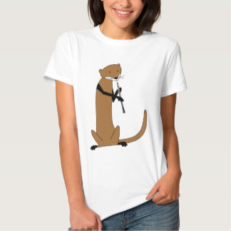 Otter Playing the Oboe T-shirts