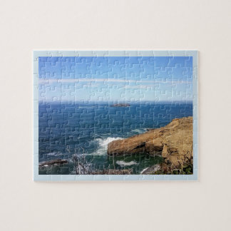 Otter Rock Jigsaw Puzzle