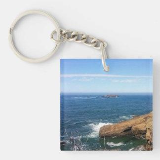 Otter Rock Key Ring