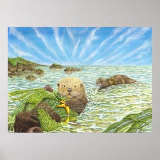 Otter Tide Poster