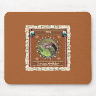 Otter  -Woman Medicine- Mousepad