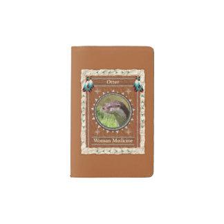 Otter  -Woman Medicine- Notebook Moleskin Cover