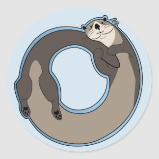 Otterboros Classic Round Sticker