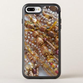 Otterbox Apple Iphone 7 Case- Earthtone Bead Print