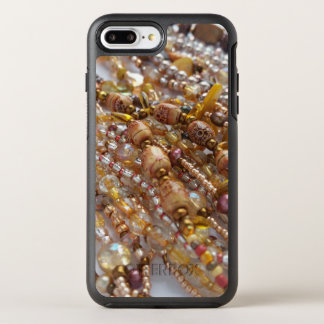 Otterbox Apple Iphone 7 Case- Earthtone Bead Print OtterBox Symmetry iPhone 7 Plus Case