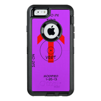 OtterBox Defender iPhone 6/6s Case - vert temp