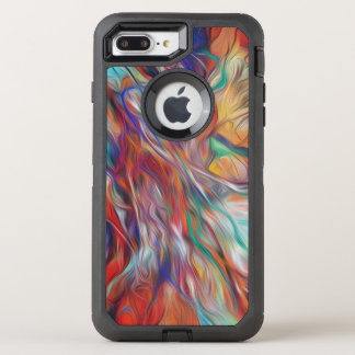 Otterbox Defender - multi-colored psychedelic OtterBox Defender iPhone 8 Plus/7 Plus Case