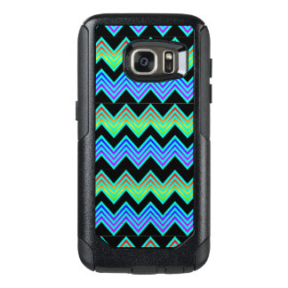 OtterBox Galaxy S7 rainbow and teal chevron OtterBox Samsung Galaxy S7 Case