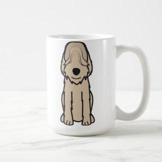 Otterhound Dog Cartoon Coffee Mug