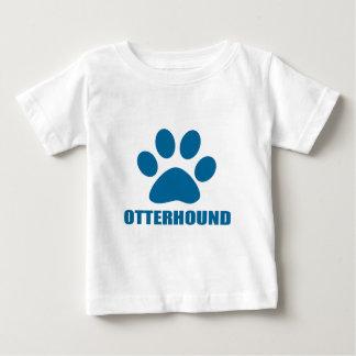 OTTERHOUND DOG DESIGNS BABY T-Shirt