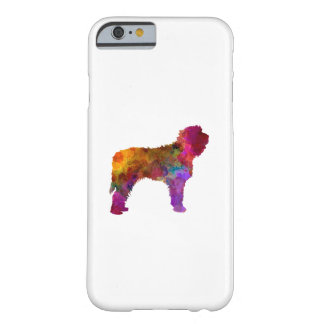 Otterhound in watercolor barely there iPhone 6 case