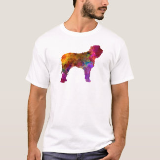 Otterhound in watercolor T-Shirt