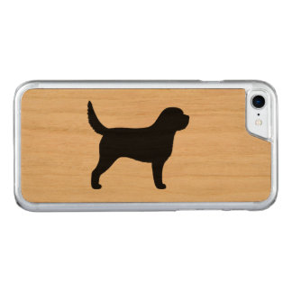 Otterhound Silhouette Carved iPhone 8/7 Case
