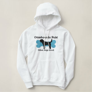 Otterhounds Rule Embroidered Hoodie
