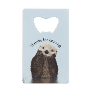 Otterly Amazing Pun with Cute Otter Photo Birthday