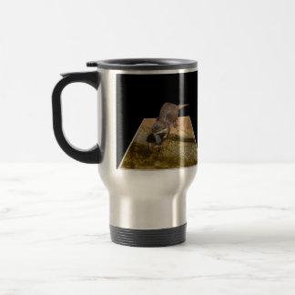 Otterly Delicious Fish, Otter, Commuter Mug