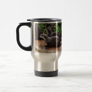 Otterly To Cute, Otter, Travel Commuter Mug