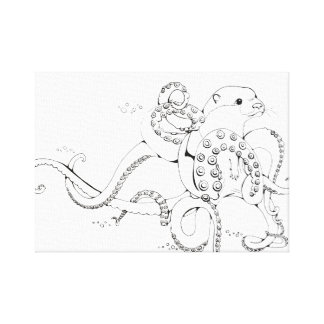 Otterpus Canvas Print