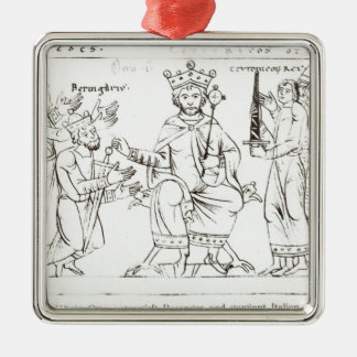 Otto I Submitting to Berenger II Christmas Ornament