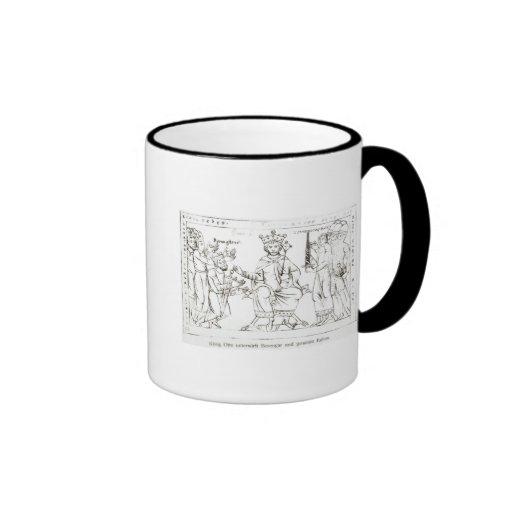 Otto I Submitting to Berenger II Coffee Mugs