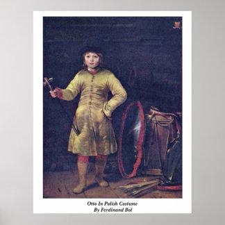 Otto In Polish Costume By Ferdinand Bol Print